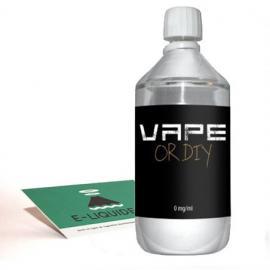 Base 1 litre Revolute sans nicotine
