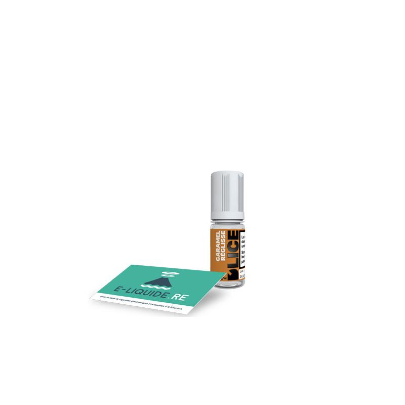 Caramel réglisse 0mg/ml D'LICE