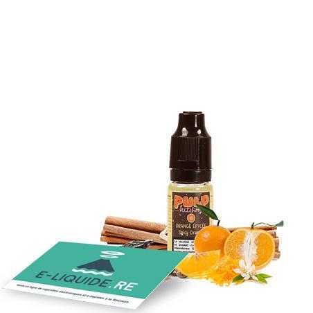 Orange épicée 10ML de Pulp Kitchen