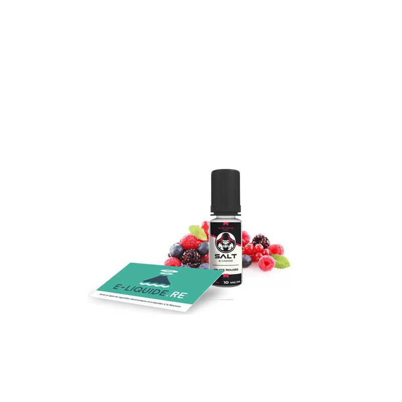 Fruits Rouges (Sel nicotine) 10ML de Le French Liquide