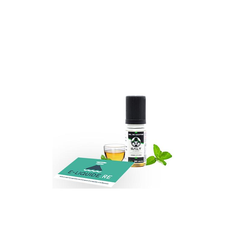 Green Storm (Sel nicotine) 10ML de Le French Liquide